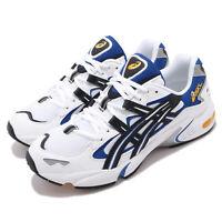 Asics Gel-Kayano 5 OG White Black Blue Mens Retro Running Shoes 1191A099-101