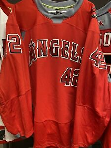 JOSH MANSON ANGELS Game Worn Used WARMUP Jersey ANAHEIM DUCKS Angels Night