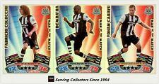 2011-12 Match Attax EPL Soccer Man Of Match Foil Card Team Set (3)-Newcastle