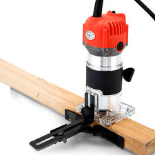 220V 300W Trim Router Edge Woodworking Wood Clean Cuts Power Tool Set