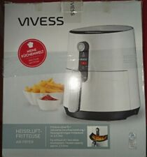 Vives HLF12001 Friteuse Fritteuse Fritöse Heißluft 2,5L 1300W  Grillen Backen