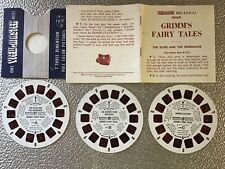 Grimm'S Fairy Tales View Master Reels,Full Set,3 Reels,B3121,B3122,B3123,E xcelle