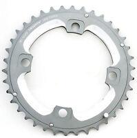 SRAM Truvativ 2x10 Spd 38T Tungsten Gray L-Pin Chainring, Specialized MTB Usable