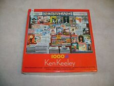 """""""Great Magazine Covers"""" 1000 pc jigsaw puzzle by Ken Keeley."""