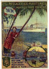 FRANCE Entier Postal 2015 Bateau Ship Val. Monde 20g MNH ** (2 scans)