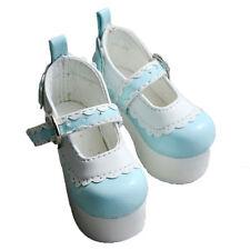 [wamami] 1/3 Light Blue High Heels Leather Shoes-7.2cm For SD AOD BJD Dollfie