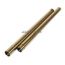 Fork Pipe For Honda NSR250 MC28 94 95 96 Gold Front Fork Inner Tubes x2 #226