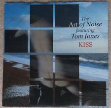 "ART OF NOISE feat. TOM JONES  **  KISS  **        7"" Single"