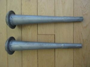 Morris Austin Mini Cooper rear steel cones tower bar original pair