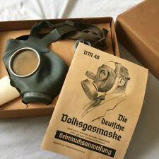 WW2 German 'Luftschutz' (Air Raid Protection) Boxed Gas Mask 'WaA104' 1939 #B