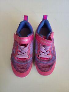 Girls Skechers Size 11 Shoes Pink & Purple