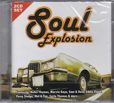 SOUL EXPLOSION - VARIOUS ARTISTS  - on 2 CD's - NEW