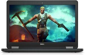 """Dell Latitude E5550 Light Gaming Laptop 15.6"""" Core i5 8GB 256GB SSD Win 10 Pro"""