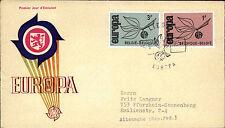 1965 Belgien Belgie Belgiique Europa FDC Premier Jour d`Emission First Day Cover