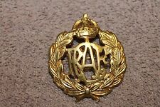 Original WW2 Royal Canadian Air Force Metal Hat Insignia Badge w/Rear Pin