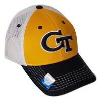 Georgia Tech Yellow Jackets Hat Mesh Trucker Snapback Cap NCAA
