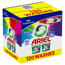 Ariel All in One Colour Pods 120 Washes Clean Lift Stains Fresh Laundry Easy Use