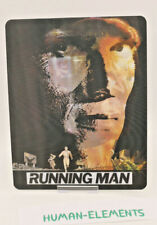 THE RUNNING MAN - 3D LENTICULAR Flip Magnet Cover TO FIT bluray steelbook