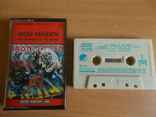 Cassette Audio K7  IRON MAIDEN  The number of the beast  EMI