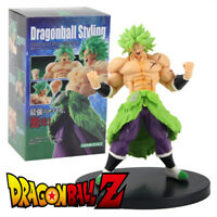 Broly DRAGON BALL STYLING Super Saiyan SS BROLY Figura Power Figure JAPAN IMPORT