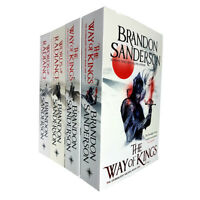 Stormlight Archive Series Brandon Sanderson Collection 4 Books Set Way of Kings