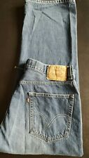 LEVI STRAUSS Men 569 Loose Straight Leg Fit Premium Cotton Denim Jeans - 34x30