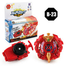 New Rare BEYBLADE BURST LIMITED B-00 Gold Xcalibur Force Xtreme+LAUNCHER B-23
