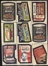 1974 Topps Wacky Packages Series 7, 22 cards