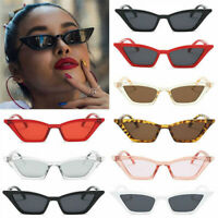 FASHION CAT EYE SUNGLASSES WOMEN RETRO SMALL FRAME VINTAGE SHADES UV400 GLASSES