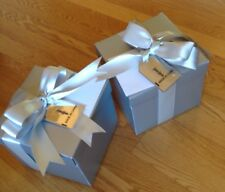 2 Collect Med Silver Neiman Marcus Gift Tag Oh What Fun Its To Give Bx Tissue