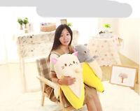 Banana Cat Anime Bananya  Plush Toy Sofa Cushion Kid's Gift Cartoon Stuffed Doll