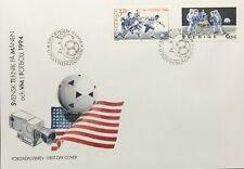 Football World Cup Commemorative Cover Sweden 1994