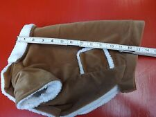 Dog coat, Toy dog coat, Fake sheep skin, Warm, Excellent condition