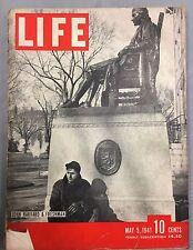 LIFE MAGAZINE MAY 5, 1941 US ARMY JOHN HARVARD FRESHMEN BRITSH RETREAT IN GREECE