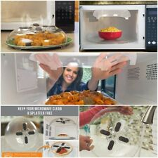 Microwave Universal Cover Magnet Food Splatter Guard Anti-Sputtering