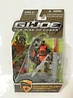"GI Joe Falsh 4"" Action Figure 2009 MOC Rise Cobra Hasbro ROC Movie 25th Trooper"