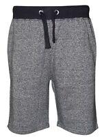 16Sixty Mens Elasticated Waist Jogger Sero Fleece Shorts Running 2 Pockets Gym