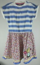 Marks & Spencer Girls Dress floral and striped Charlie and Lola size 4/5
