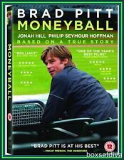 MONEYBALL - Brad Pitt  & Jonah Hill **BRAND NEW DVD **