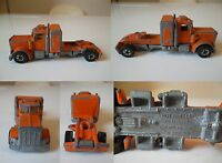 CAMION VINTAGE HOT WHELLS PETERBILT MADE IN FRANCE MATTEL 1980 TRUCK