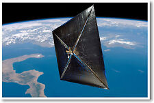 New Horizons Spacecraft - Solar Sail - NEW Space NASA Astronomy Science POSTER