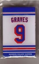 ADAM GRAVES RANGERS RETIREMENT NIGHT PIN 2/3/09