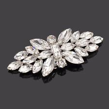 1 Pc Femme Clip Chaussure Décos Papillons Forme Faux Diamant Soirée Accessories