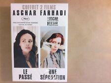 COFFRET 2 DVD ASGHAR FARHADI / LE PASSE + UNE SEPARATION / NEUF SOUS CELLO