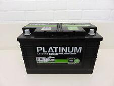 BRAND NEW PLATINUM LEISURE 110 AMP LEISURE BATTERY FOR CARAVAN/ MOTORHOME / BOAT