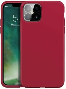 Xqisit Soft Touch Anti-bacterial Silicone Case for iPhone 12 / 12 Pro - Red