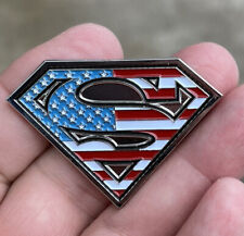 Superman Collectible Challenge Coin Medallion July 2021 Happy 4th Of July