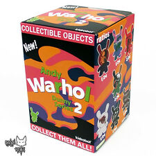 Andy Warhol Dunny Series 2 by Kidrobot - ONE New Factory Sealed Blind Box