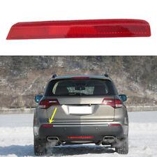 For Acura MDX 2010 2011 Rear Bumper Reflector Fog Tail Brake Warn Lights