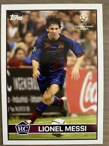 """TOPPS On Demand """"The Lost Rookie"""" Lionel Messi RC Rookie Soccer Card - In Hand"""
